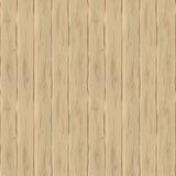 Cerca beige inconsútil del vector Textura retra de los tableros Fondo a mano de madera del vintage Fotografía de archivo