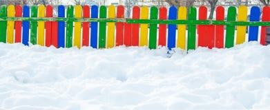 Cerca coloreada Imagen de archivo libre de regalías