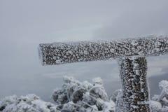 Cerca congelada Fotos de archivo libres de regalías