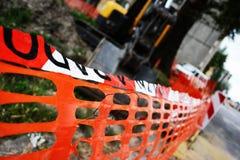 Cerca da construção Fotos de Stock Royalty Free