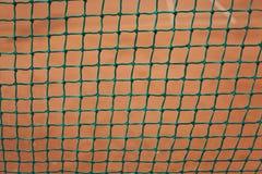 Cerca da corte de tênis Imagem de Stock Royalty Free