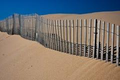 Cerca da duna Fotografia de Stock
