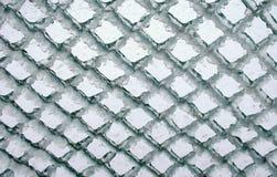 Cerca da estrutura com gelo Imagem de Stock Royalty Free