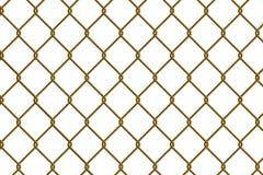 Cerca da ligação Chain ilustração stock