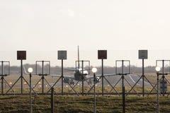 Cerca da pista de decolagem Fotos de Stock