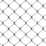 Cerca da rede de arame no fundo branco ilustração royalty free