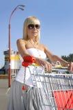 Cerca de alameda de compras Fotografía de archivo