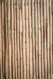 Cerca de bambu natural foto de stock royalty free