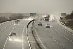 A421 cerca de Bedford England Reino Unido Foto de archivo