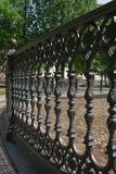 Cerca de bronze fotografia de stock