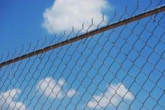 Cerca de Chainlink Foto de archivo libre de regalías