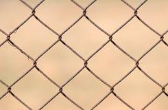 Cerca de chainlink do metal Imagens de Stock