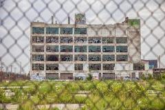 Cerca de Fisher Body Works Factory With Imagen de archivo libre de regalías