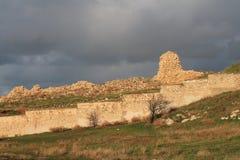 Cerca de Hersonissos, república de Crimeia Imagem de Stock Royalty Free