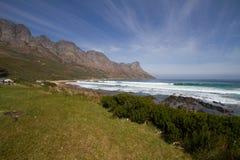 Cerca de la bahía de Gordons, Suráfrica foto de archivo libre de regalías