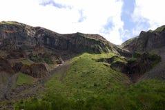 Cerca de la cascada de Changbai imagenes de archivo