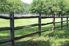 Cerca de la granja Fotografía de archivo libre de regalías