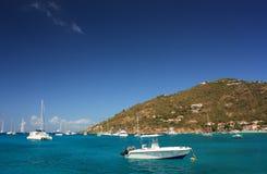 Cerca de la isla caribeña Imagen de archivo