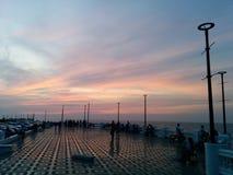 Cerca de la luz del mar Imagen de archivo