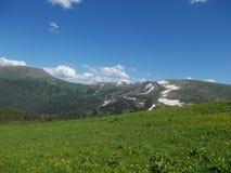 Cerca de la montaña de Korolevsky Belok foto de archivo libre de regalías