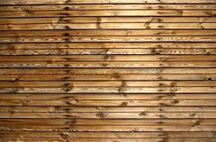 Cerca de las barras de madera Fotos de archivo libres de regalías