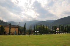 Cerca de Lucca Toscana Imagen de archivo libre de regalías