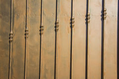 Cerca de lujo Detail del hierro labrado Foto de archivo