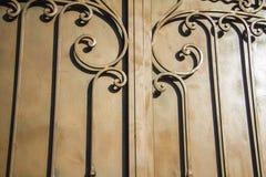 Cerca de lujo Detail del hierro labrado Fotos de archivo