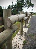 Cerca de madeira Foto de Stock Royalty Free
