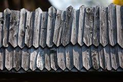 Cerca de madeira Fotografia de Stock