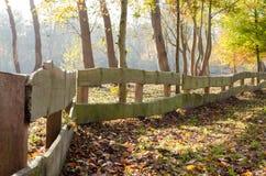 Cerca de madeira Imagens de Stock Royalty Free