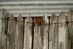 Cerca de madeira Imagem de Stock Royalty Free