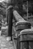 Cerca de madeira Fotos de Stock Royalty Free