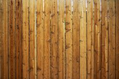 Cerca de madeira Backdrop fotografia de stock