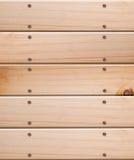 Cerca de madeira, close up. Fotografia de Stock Royalty Free