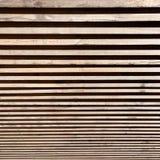 Cerca de madeira com o efeito da vertigem Fotos de Stock Royalty Free