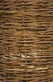 Cerca de madeira de vime Fotos de Stock Royalty Free