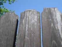 Cerca de madeira envelhecida Imagem de Stock