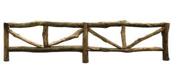 Cerca de madeira para cultivar fotografia de stock royalty free