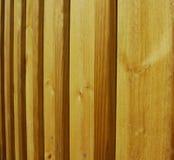 Cerca de madeira Post Imagem de Stock Royalty Free