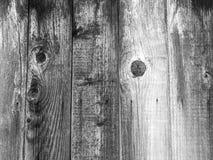 Cerca de madeira preta do fundo que empalidece Imagens de Stock Royalty Free