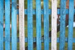 Cerca de madeira rústica Fotografia de Stock Royalty Free