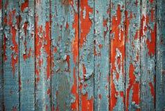 Cerca de madeira resistida Imagem de Stock Royalty Free