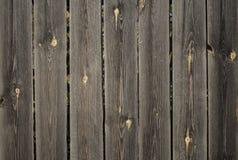 Cerca de madeira velha Imagens de Stock Royalty Free