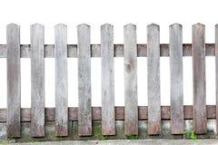 Cerca de madeira velha Fotografia de Stock