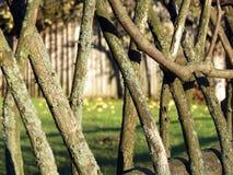 Cerca de madeira velha Imagem de Stock Royalty Free