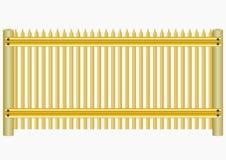Cerca de madera. Ilustración del Vector