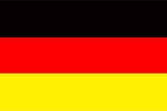 Cerca de madera alemana Heart de Europa del país del símbolo de la bandera de Alemania de la materia textil patriótica nacional d stock de ilustración