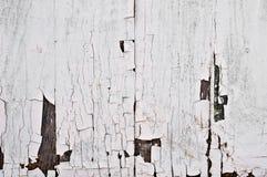 Cerca de madera blanca de la vendimia Imágenes de archivo libres de regalías