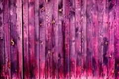 Cerca de madera colorida vieja hermosa Imágenes de archivo libres de regalías